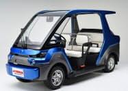 ヤマハ発動機の燃料電池搭載の試験車両「YG―M FC」