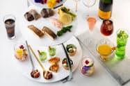 森トラスト・ホールディングス系が運営するホテルではなつかしの食材をふんだんに使ったコースメニューを提供している。