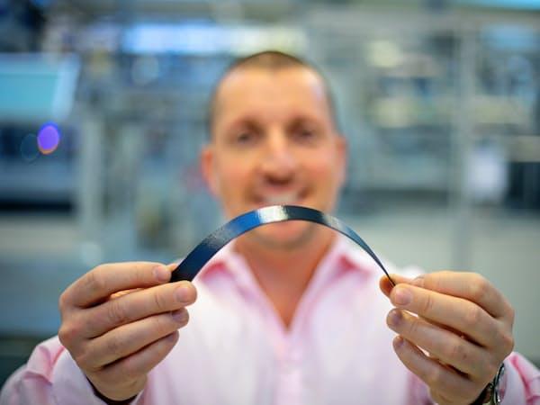 エクセジャーが開発・製造する太陽電池セル