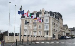 G7外相会合の舞台となったホテル
