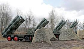 ロシアがトルコに売却するミサイル防衛システム「S400」=ロイター