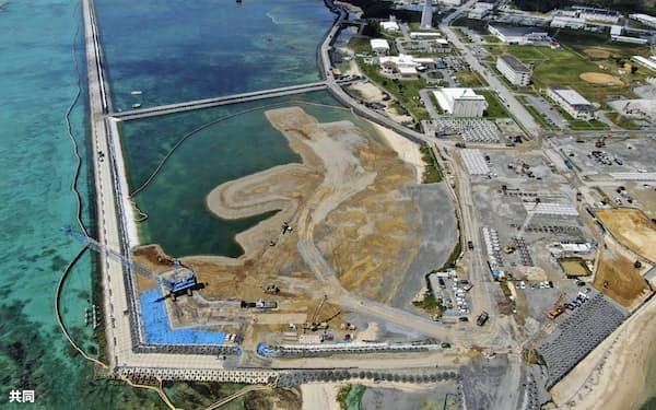 沖縄3区は基地問題などが焦点だ(3月26日、沖縄県名護市辺野古の沿岸部)=共同