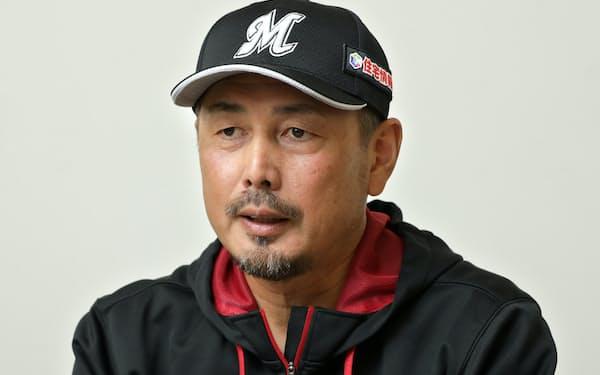 吉井理人 千葉ロッテマリーンズ投手コーチ