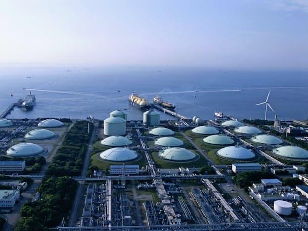 LNG基地の効率運用に向けてスタートアップの知恵を活用する(東京ガスの袖ケ浦LNG基地)