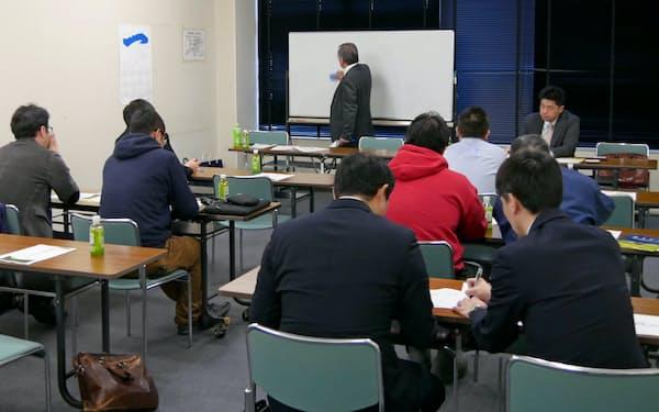 大阪堂島商品取引所が3月下旬に開いたセミナー(新潟市)