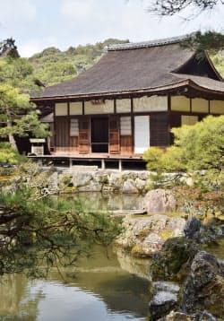 国宝に指定されている東求堂(京都市左京区)