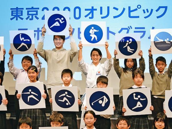 3月には2020年東京五輪のスポーツピクトグラムが発表された