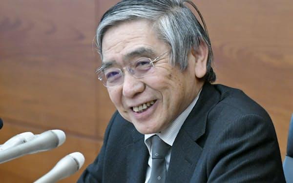 3月の金融政策決定会合後、黒田日銀総裁は「強気」ともいえる認識を示した