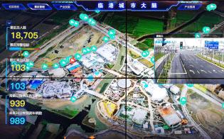 上海・臨港新城が導入した「城市大脳」は張り巡らせたカメラ網で街全体を監視する