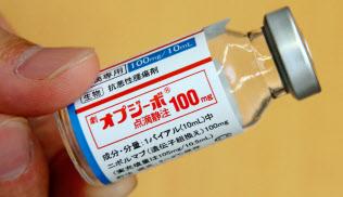 がん免疫薬「オプジーボ」