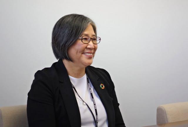 須磨学園の西泰子理事長