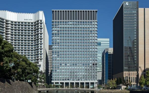 米セールスフォース・ドットコムが全フロアを借り受ける予定の日本生命丸の内ガーデンタワー(東京都千代田区)