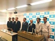 水機工業と日本空調北陸は正社員として4人を採用した(富山市)