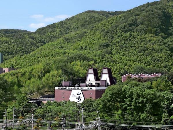 山崎蒸溜所(大阪府島本町)