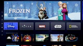 ウォルト・ディズニーの動画配信サービスでは「ディズニー」「ピクサー」などのコンテンツを楽しめる