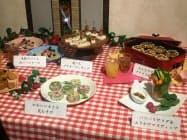 4社で食物アレルギーに配慮したレシピを開発した(12日、東京都千代田区)
