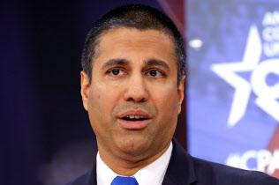 FCCのパイ委員長は地方での5G網整備へ204億ドルを拠出すると述べた=ロイター