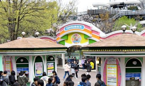 大正時代に開園した東京の老舗遊園地「としまえん」(東京都練馬区)