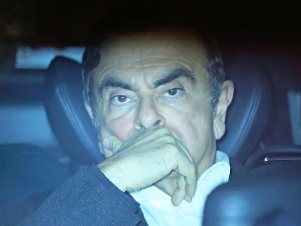 日産自動車元会長、カルロス・ゴーン被告