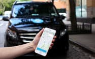 ビア社はスマートフォンの位置情報に基づき、複数の乗客を同時に運ぶライドシェアを手掛けている