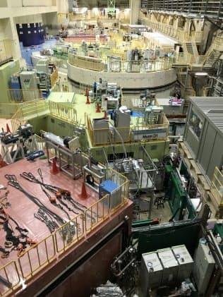 ミュオン触媒核融合の実験を行うJ―PARCの施設(茨城県東海村)