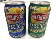 アサヒビールが6月に発売する「ウィルキンソン・ドライセブン」