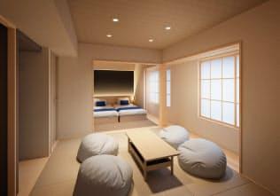 クラスはホテル向けにもサブスクリプション家具の貸し出しを始める(採用する京都市のホテル)