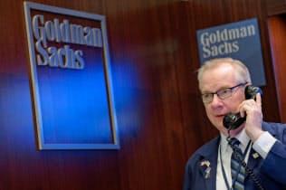 ゴールドマンの19年1~3月期は減益決算に=ロイター