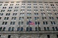 ニューヨーク連邦準備銀行(米ニューヨーク)=ロイター