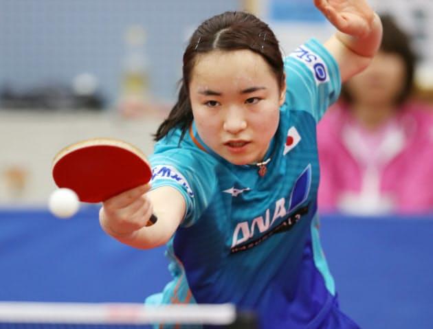伊藤は女子シングルスで50年ぶりの金メダルを目指す