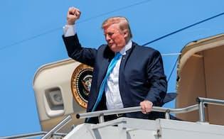 トランプ米大統領は「タリフマン」を自任する=ロイター