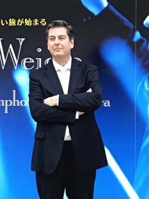 読売日本交響楽団の常任指揮者に就任したセバスチャン・ヴァイグレ
