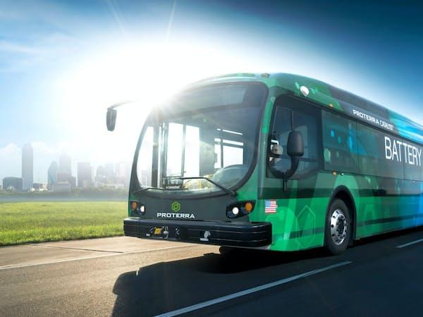 プロテラは米国最大手のEVバスメーカーだ
