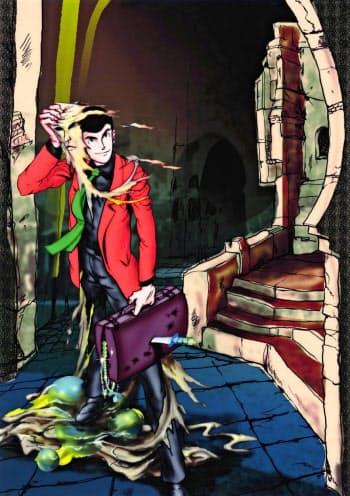 漫画「ルパン三世」のルパン三世 (C)モンキー・パンチ=共同