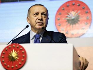 エルドアン大統領は与党によるイスタンブール市長職の確保に執着する=AP
