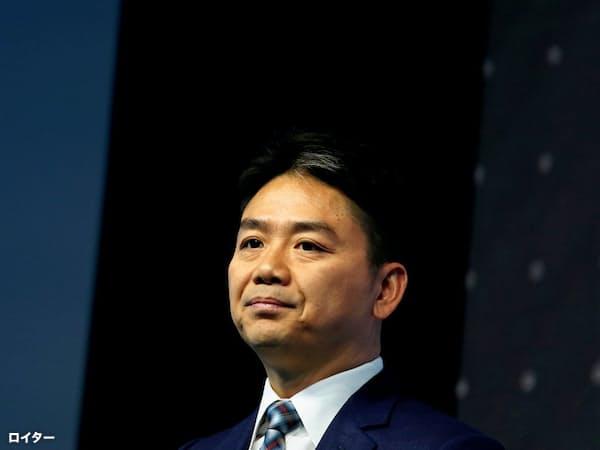 京東集団(JDドットコム)創業者で、最高経営責任者(CEO)の劉強東氏=ロイター