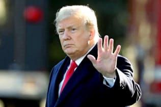トランプ米大統領は不正疑惑を払拭できるか(ワシントン)=ロイター