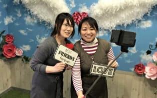 大阪市の西淀川区役所の来庁記念撮影コーナーは「インスタ映えする」と人気。5月1日も使える