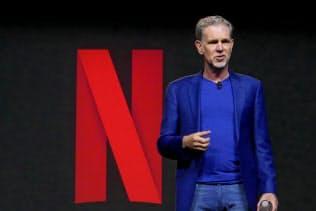 米国で動画配信の競争は激化している(米ネットフリックスのリード・ヘイスティングスCEO、3月)