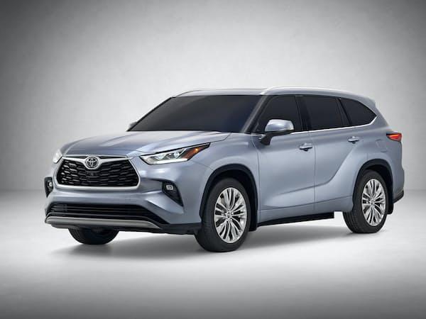 トヨタがNYショーで世界初公開するSUV「ハイランダー」の新型車