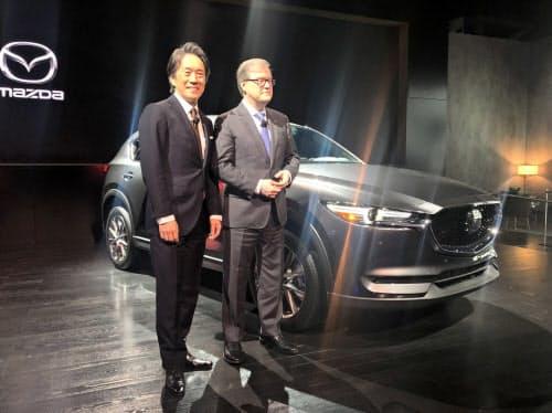 マツダはSUV「CX-5」のディーゼル車を米国に初投入する