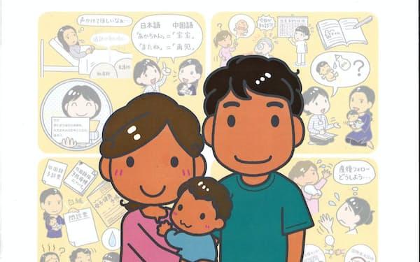 かながわ国際交流財団の「外国人住民の妊娠から子育てを支えるガイドブック」