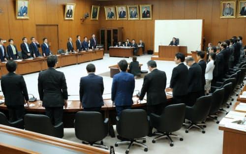 全会一致で電気通信事業法改正案を可決した衆院総務委(18日)