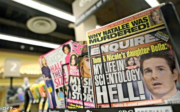 AMIは「ナショナル・エンクワイアラー」など3誌を売却する=ロイター
