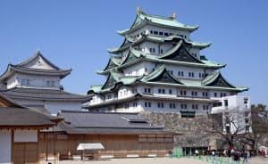 名古屋城は天守閣の木造復元を目指す(名古屋市中区)