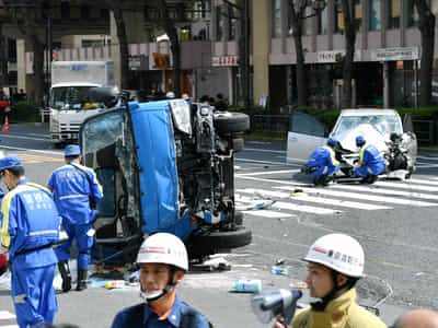 東京・池袋で歩行者絡む事故 女児含む2人死亡