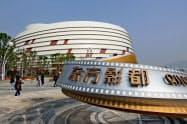 万達は中国に13カ所あるテーマパークをすべて売却した(山東省青島の施設)