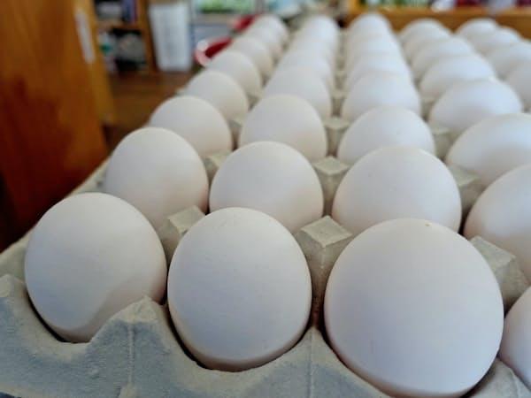 大型連休を控え鶏卵の需要が増えている