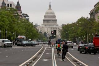 首都ワシントンの米議会=ロイター