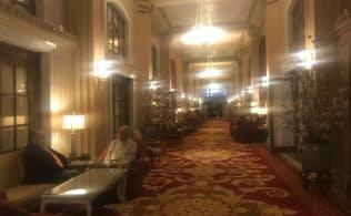 ウィラードホテルはロビイストという言葉の発祥の地とされる